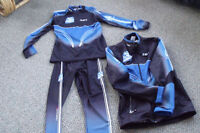 2 Nordic xcountry ski suits & jackets.