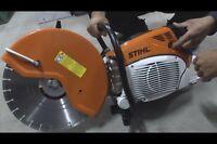 Stihl TS800 scie Beton 16 pouce