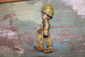 Old Antique Tin Toy Soldier London Ontario image 4