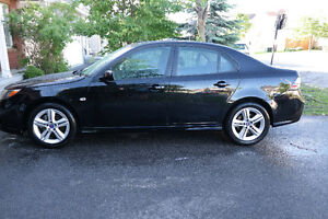 2009 Saab 9-3 210hp 6 Sp Manual 4 cyl AWD Black Sedan No rust