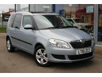 2011 SKODA ROOMSTER 1.2 TSI 105 SE ALLOYS, PARKING SENSORS and PAN ROOF