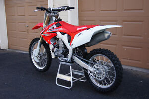 2012 crf450r for trade for streetbike or boat