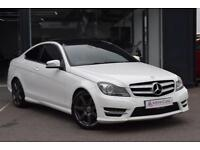 2013 Mercedes-Benz C Class 1.6 C180 AMG Sport Sport Coupe 7G-Tronic Plus