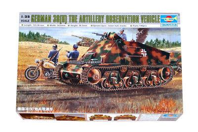 Trumpeter 9360355 Panzerkampfwagen 38(H) als Befehlswagen 1:35 Modellbausatz