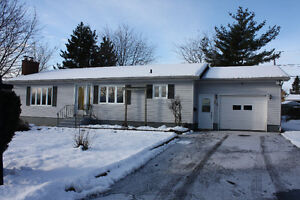 Bungalow in Moncton with Attached Garage