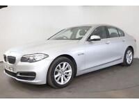 2014 63 BMW 5 SERIES 2.0 520D SE 4D AUTO 181 BHP DIESEL
