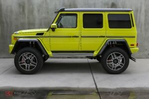 2018 Mercedes-Benz G 550 4x4 Squared - Local, No Accidents.