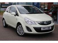 2012 VAUXHALL CORSA 1.2 Excite [AC] 16andquot; ALLOYS, BLUETOOTH and AIR CON