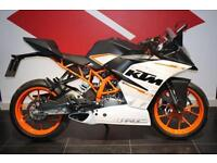 2016 66 KTM RC 390, WHITE, ONLY 89 MILES!