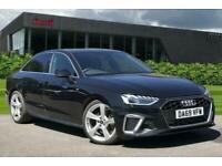2019 Audi A4 S line 40 TFSI 190 PS S tronic Semi Auto Saloon Petrol Automatic