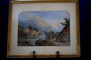 Richardson Watercolor-Upon Passing Christies Auction Sold Estate