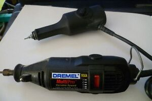 Dremel multipro variable speed tool and Dremel engraver