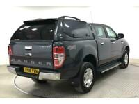 2018 FORD RANGER TDCI 160 LIMITED 4X4 DOUBLE CAB WITH TRUCKMAN TOP (14799) PICK