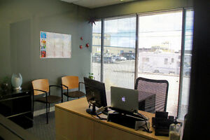 Bright Office Space in Airport Business Area