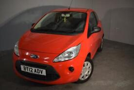 2012 FORD KA STUDIO HATCHBACK PETROL