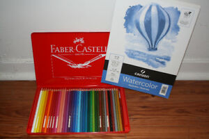 BRAND NEW NEVER USED WATERCOLOR PENCIL KIT