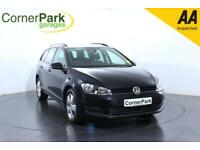 2014 VOLKSWAGEN GOLF SE TDI BLUEMOTION TECHNOLOGY ESTATE DIESEL