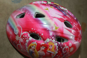 Disney Princess Girls Bike Helmet, in excellent condition