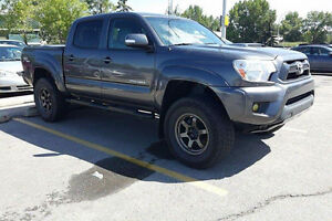 6 Spd Manual 2013 Toyota Tacoma TRD Sport Double Cab
