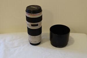 Canon 70-200 f4 L  Non IS version