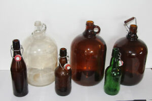 Bottle Flip-Top Swing Top  EZ Cap  Grolsch Carboy Gall. Growler