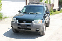 2001 Ford Escape XLT SAFETIED, CLEAN TITLE