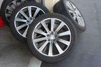 Subaru WRX Spoke Rims w/ winter / snow tires