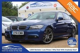 2011 61 BMW 3 SERIES 2.0 320D SPORT PLUS EDITION 4D AUTO 181 BHP DIESEL