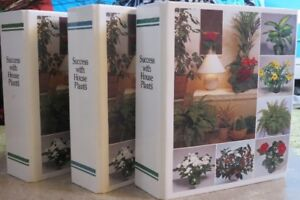 Gardening 'Success With Houseplants' books