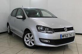 2014 63 VOLKSWAGEN POLO 1.2 MATCH EDITION 5DR 59 BHP