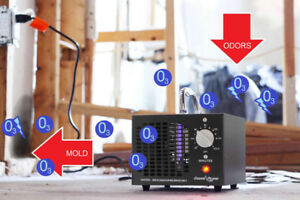 ODORS  CONTROL  COMMERCIAL OZONE GENERATOR