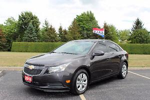 2014 Chevrolet Cruze LT Sedan*Factory warranty**Remote Starter**