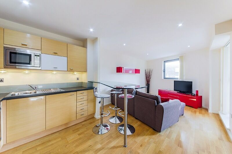 Contemporary and stylish ONE DOUBLE bedroom apartment *** EXCELLENT connection to THE CITY OF LONDON