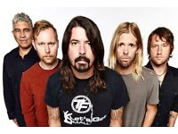 Foo Fighters Standing 19th June in Manchester