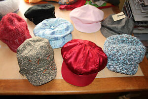 girls hats Newsboy caps lot, girls hats