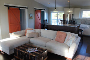 Waterfront Cottage and Pet Friendly Renovated Farmhouse for Rent