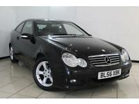 2007 56 MERCEDES-BENZ C CLASS 2.1 C200 CDI SE SPORTS 3DR 121 BHP DIESEL
