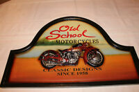 3D HandCrafted Motorcycle Wall Art