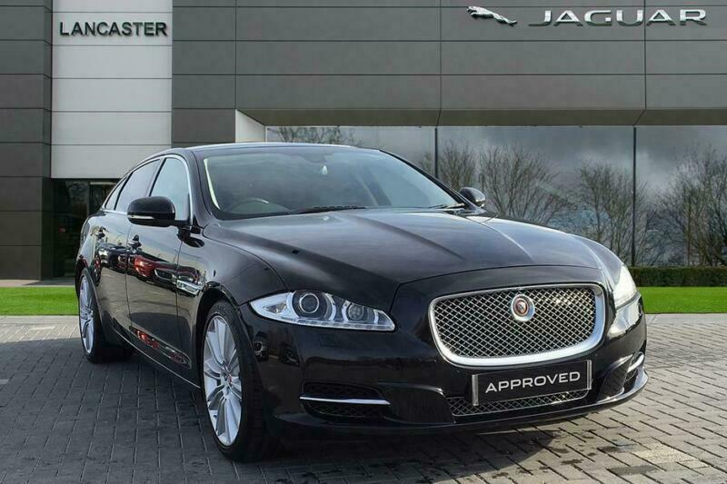 2015 Jaguar XJ D V6 PORTFOLIO L Diesel black Automatic | in Reading,  Berkshire | Gumtree