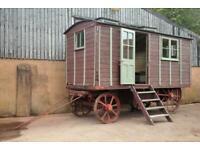 Fowler Ploughing Steam Engine Living Van No. 13120 of 1918