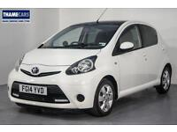 2014 Toyota Aygo 1.0 VVT-I Move With Style With Sat Nav, Air Con, Alloy Wheels A