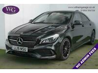 2019 19 MERCEDES-BENZ CLA 1.6 CLA 200 AMG LINE NIGHT EDITION PLUS 4D 154 BHP