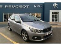 2019 Peugeot 308 1.2 PureTech GPF Allure (s/s) 5dr Petrol grey Manual