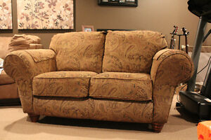 Couch and love seat in excellent condition.