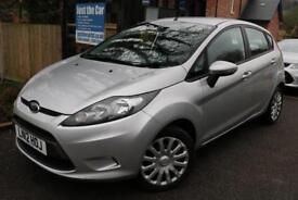 2012 (12) Ford Fiesta Edge 1.4 TDCI Silver 5 Dr FSH Long MOT Finance Available