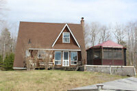 Cedar Cottage Located on Goose Harbour Lake, Mulgrave, NS