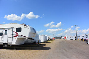 Storage for Rent in Regina - RV Trailers Boats Cars Motorhomes