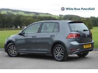 2017 Volkswagen Golf SE Nav 1.6 TDI 115PS 7-speed DSG 5 Door Diesel grey Semi Au