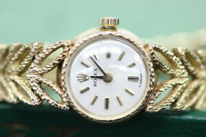 Vintage Lady's Rolex 14k Yellow Gold w/ Appraisal (#1895)