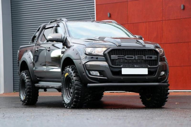 2017 Ford Ranger Seeker Raptor T7 Wide Boy Edition Ranger